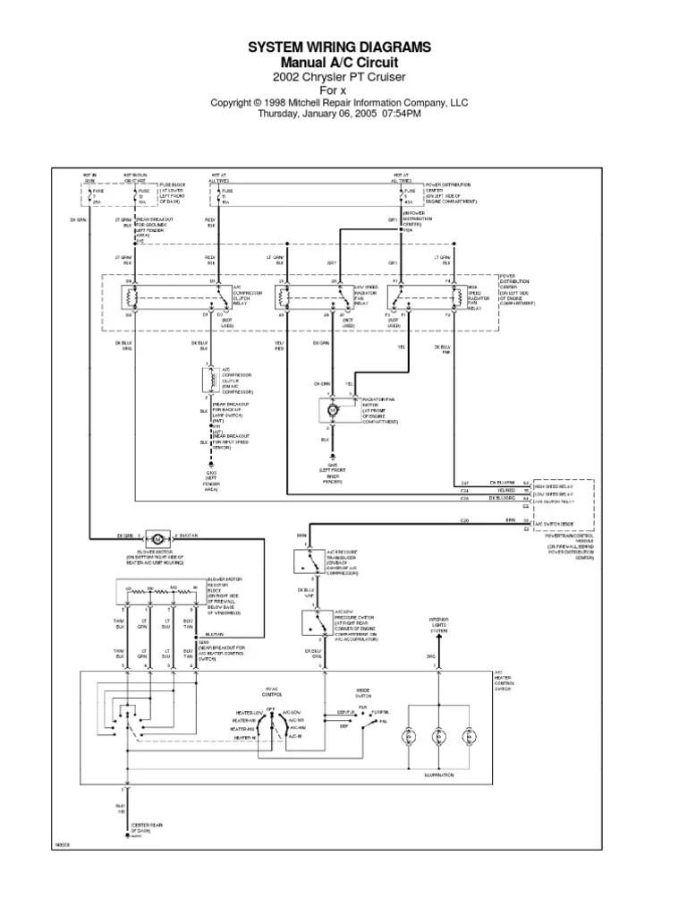 medium resolution of chrysler pt cruiser diaggramy el