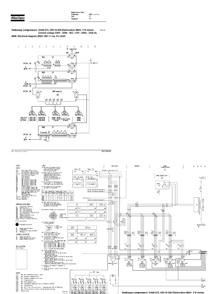 atla copco ga22 wiring diagram [ 768 x 1024 Pixel ]