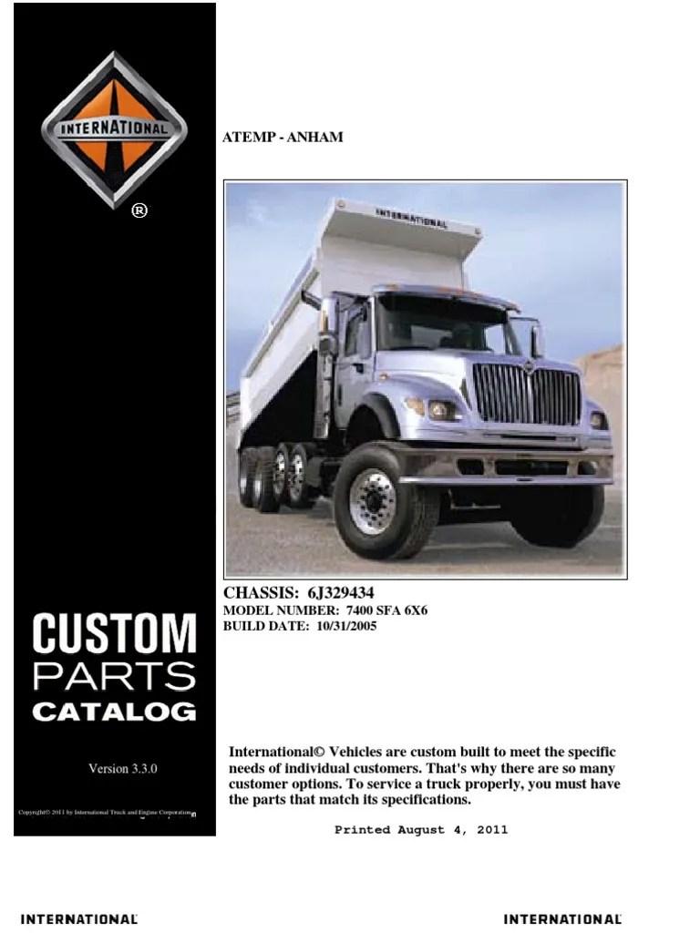 medium resolution of 4300 international truck reverse light wiring