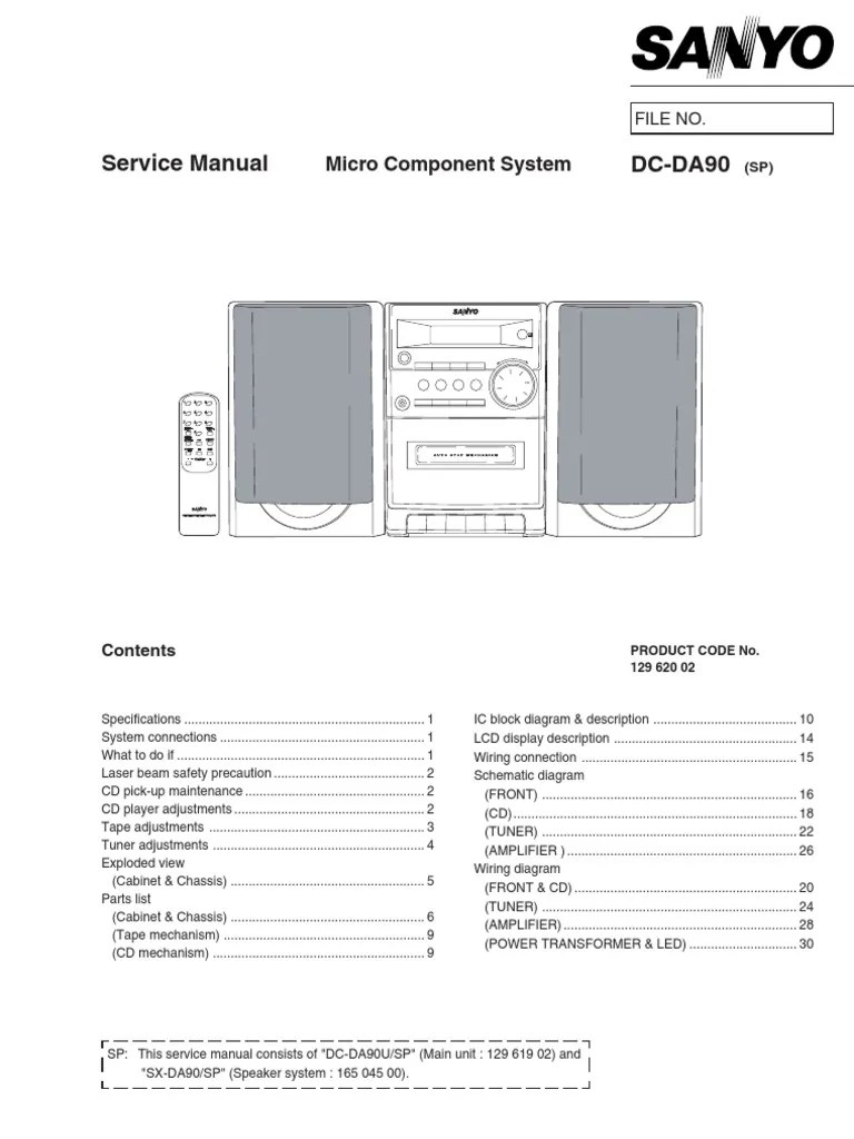 cd player block diagram [ 768 x 1024 Pixel ]