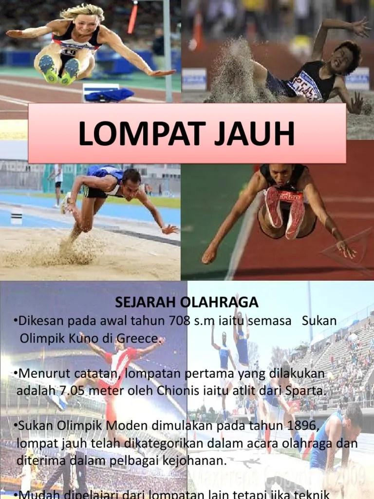 Sejarah Lompat Jauh Di Indonesia : sejarah, lompat, indonesia, Powerpoint, Latihan, Olahraga