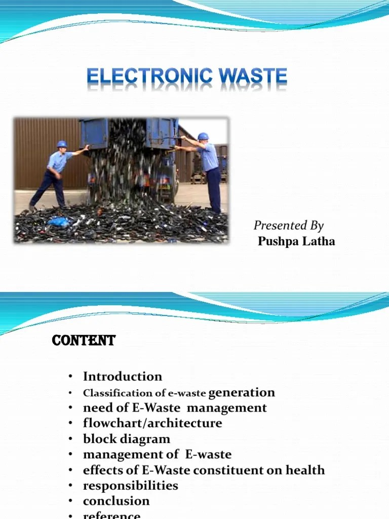 small resolution of e waste block diagram