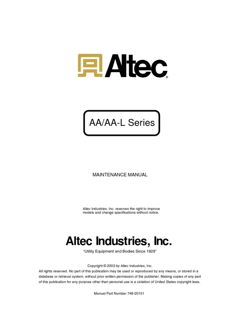 altec winch wiring diagram [ 768 x 1024 Pixel ]