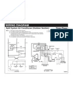 Wiring Diagram-Split System Air Conditioner