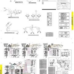 Ddec 2 Injector Wiring Diagram For Trailer Lights Australia Cat - C12, C13, C15 Electric Schematic