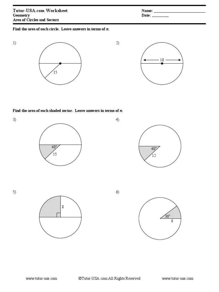 worksheet. Geometry Circle Worksheets. Grass Fedjp