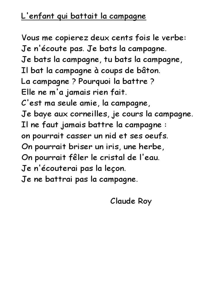 L'enfant Qui Battait La Campagne : l'enfant, battait, campagne, Enfant, Battait, Campagne