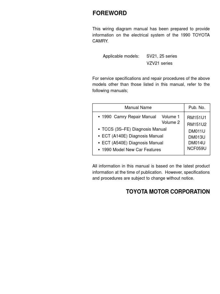 hight resolution of 1994 toyotum camry electrical wiring diagram