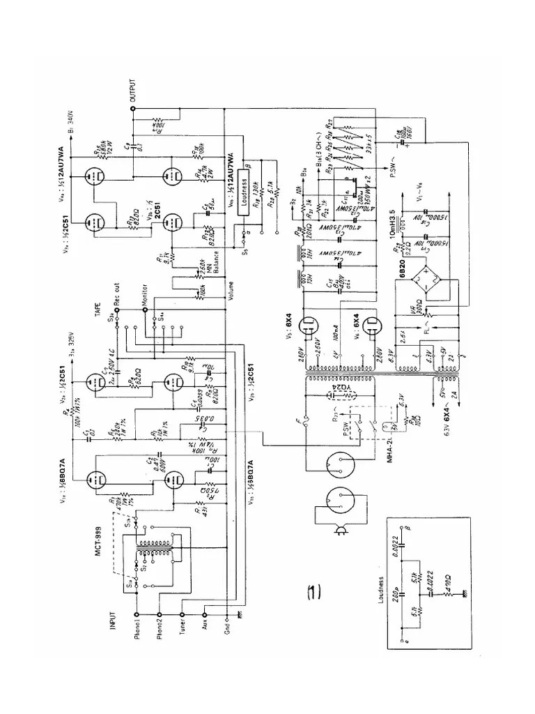 143 Tube Amplifier Schematics (OTL,211,6080,300B,VT4C) WW
