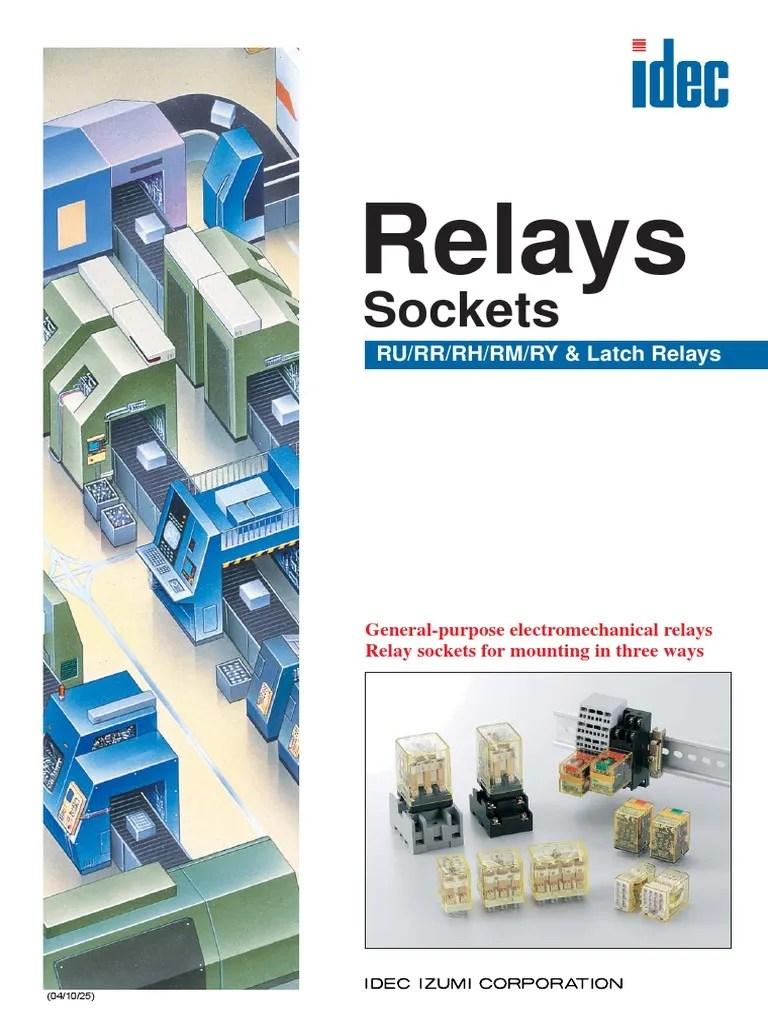 hight resolution of idec ry4 relay wiring diagram