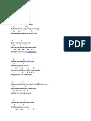 Chord Orang Pinggiran : chord, orang, pinggiran, Chord, Band.docx