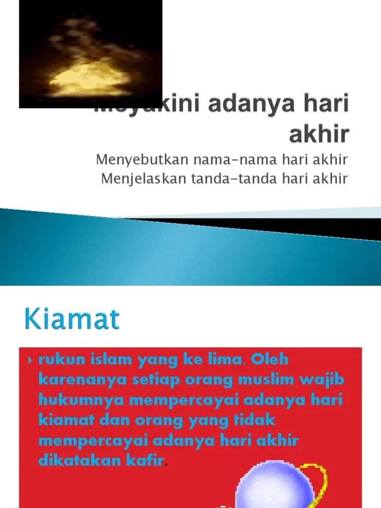 Nama2 Hari Kiamat : nama2, kiamat, Kiamat.pptx