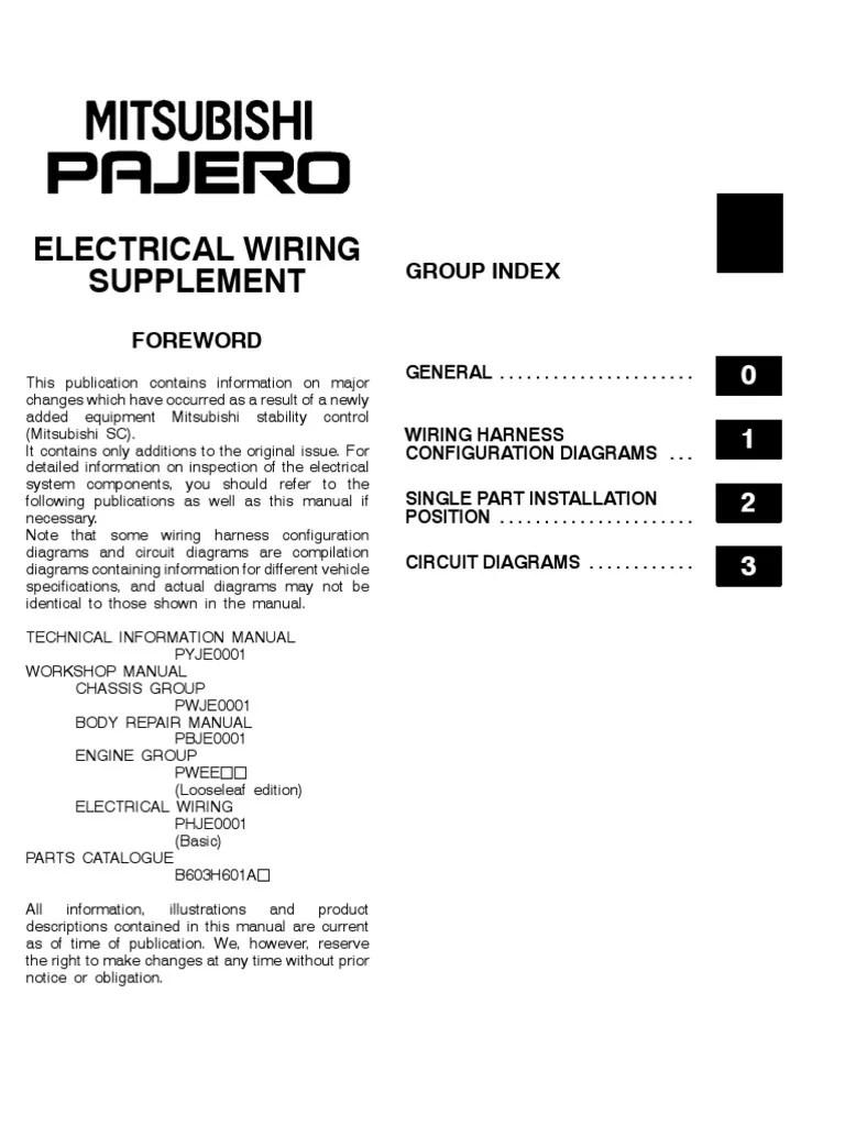 medium resolution of 2001 pajero wds pdf fuse electrical power supply