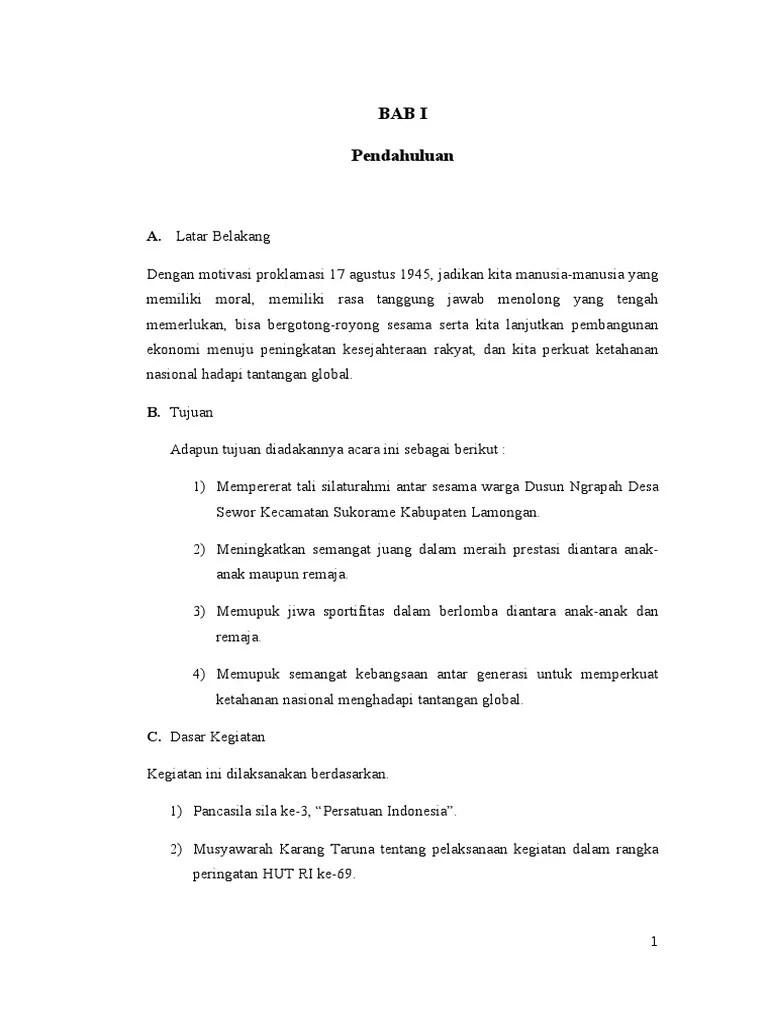 Contoh Penutup Proposal Kegiatan 17 Agustus : contoh, penutup, proposal, kegiatan, agustus, Proposal, Agustus.doc