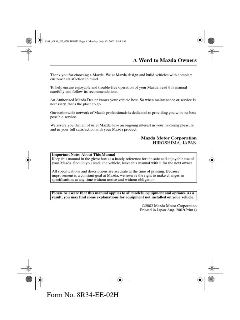 medium resolution of mazda premacy fuse box