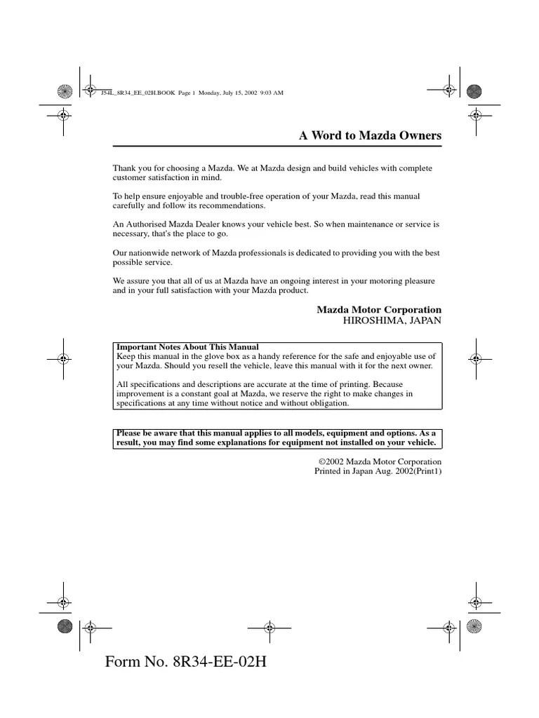 small resolution of mazda premacy fuse box