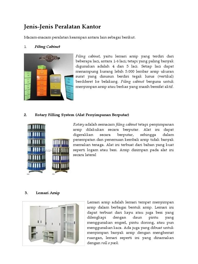 Jenis Perlengkapan Kantor : jenis, perlengkapan, kantor, Jenis-Jenis, Peralatan, Kantor