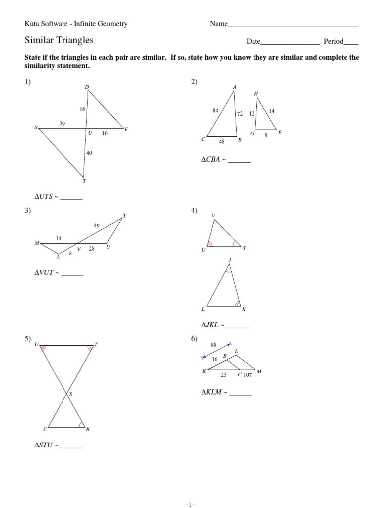 small resolution of 7-similar triangles   Triangle   Numbers