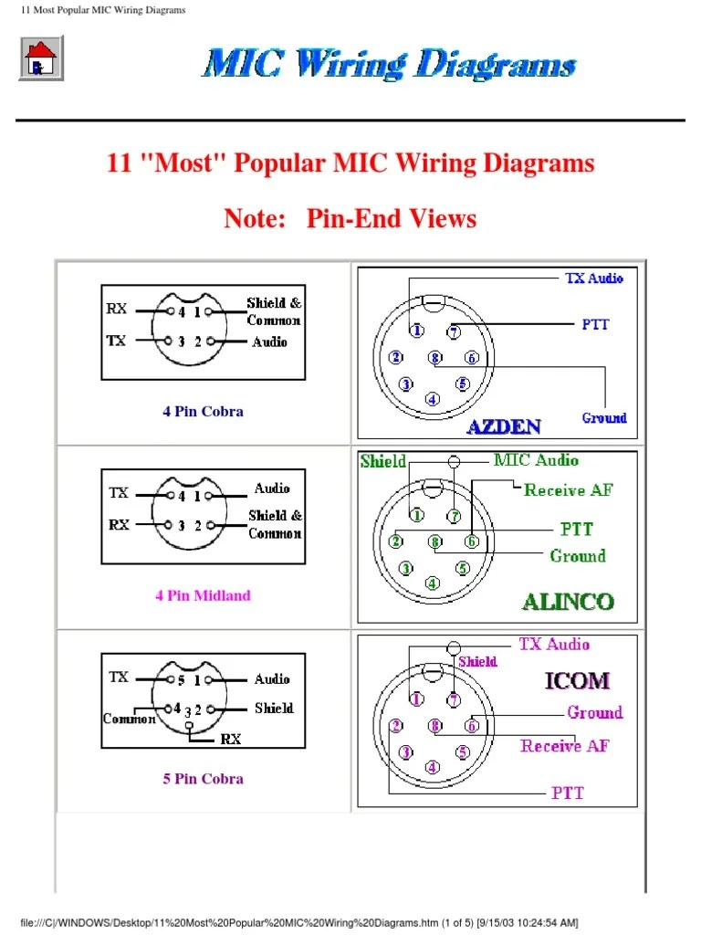 small resolution of mic wiring diagrams microphone transmitter 5 pin microphone wiring diagram