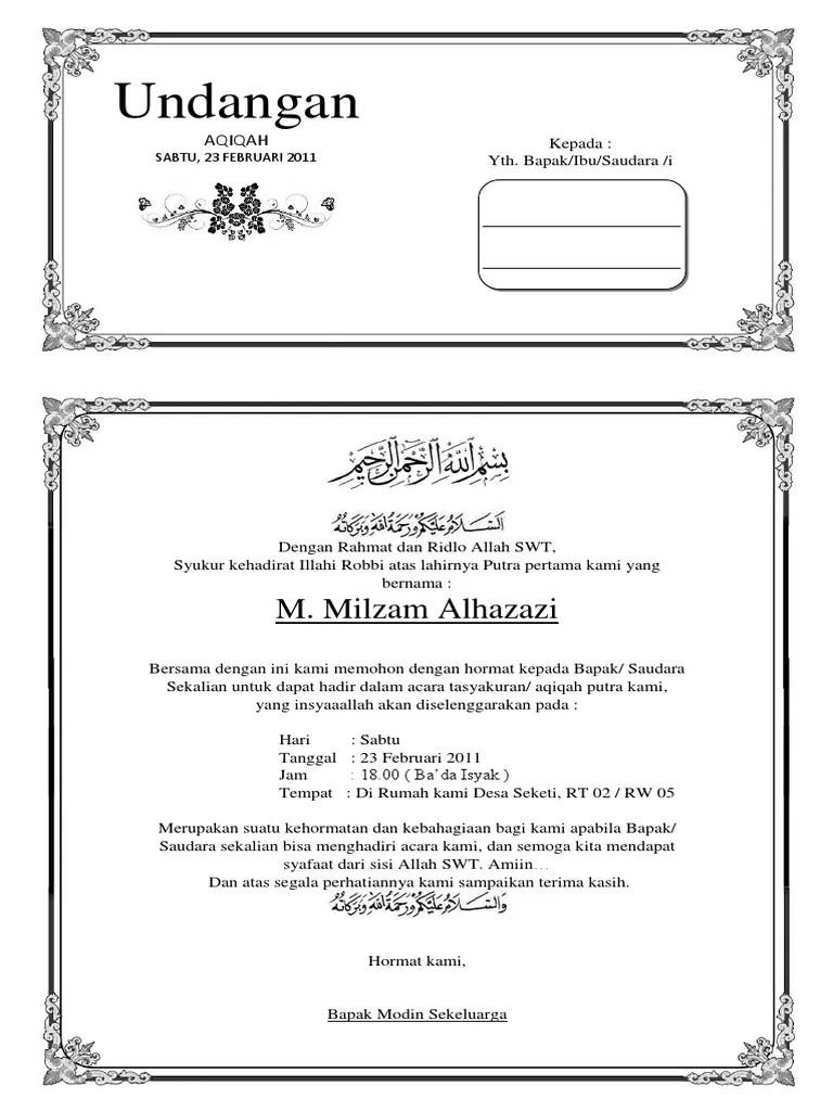 Kartu Ucapan Aqiqah Bisa Di Edit : kartu, ucapan, aqiqah, Download, Ucapan, Aqiqah, Kotak, Diedit, Nusagates