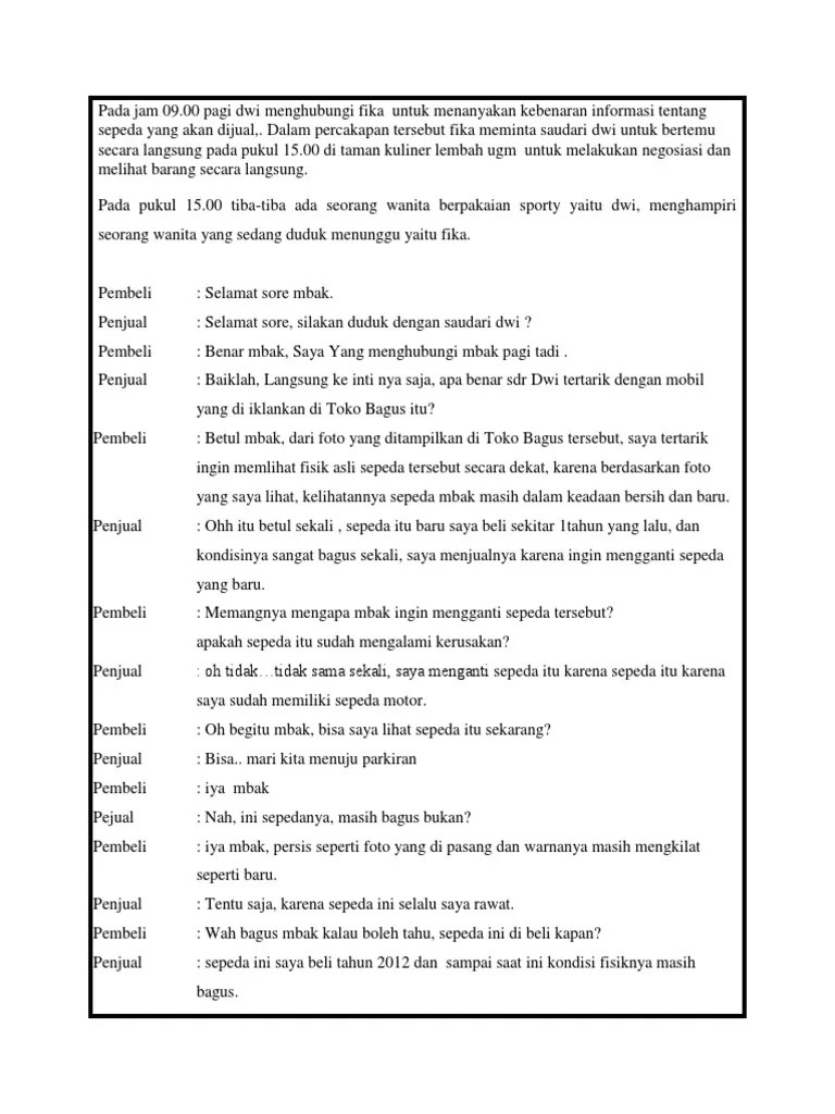 Contoh Dialog Negosiasi : contoh, dialog, negosiasi, Contoh, Dialog, Negosiasi, Dokter, Andalan