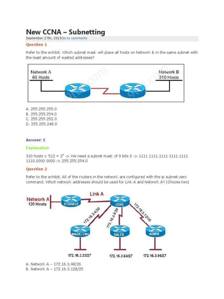 medium resolution of subnet mask diagram