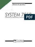 Manual Serv. Técnico Infusomat Space español