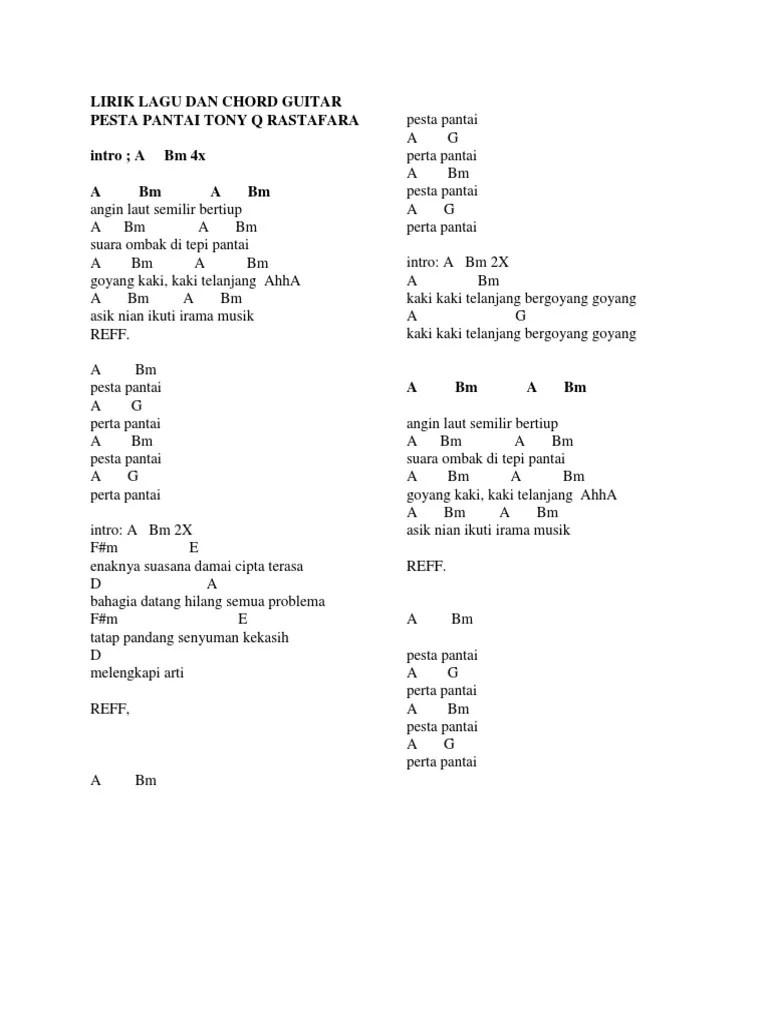 Kunci Gitar Pantai Bali : kunci, gitar, pantai, 205m4d1:, Cinta, Pantai, Reggae