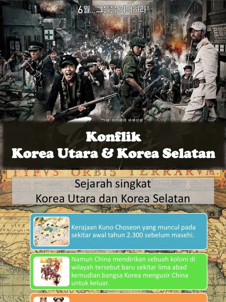 Konflik Korea Selatan Dan Korea Utara : konflik, korea, selatan, utara, Konflik, Korea, Utara, Selatan