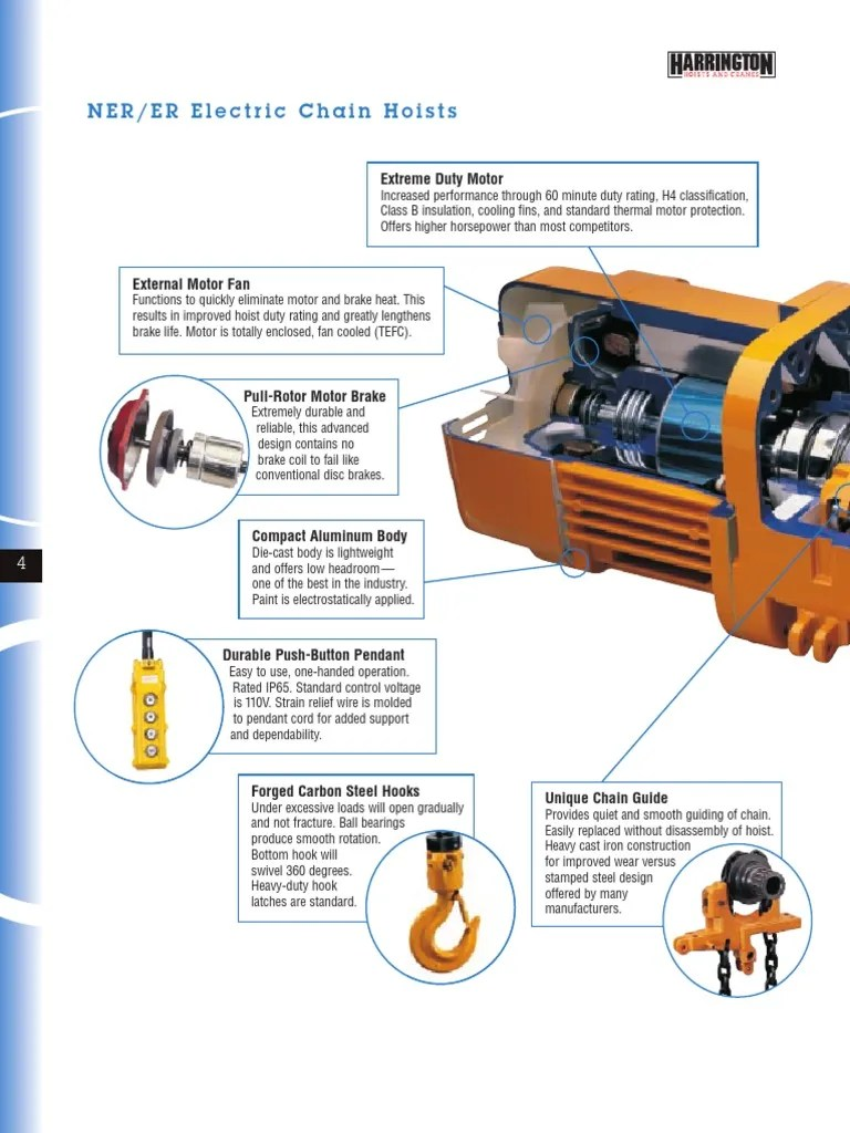 harrington 5 ton electric chain hoist wiring diagram [ 768 x 1024 Pixel ]