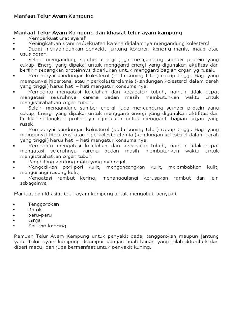 Manfaat Telur Kampung Dicampur Madu : manfaat, telur, kampung, dicampur, Manfaat, Telur, Kampung.
