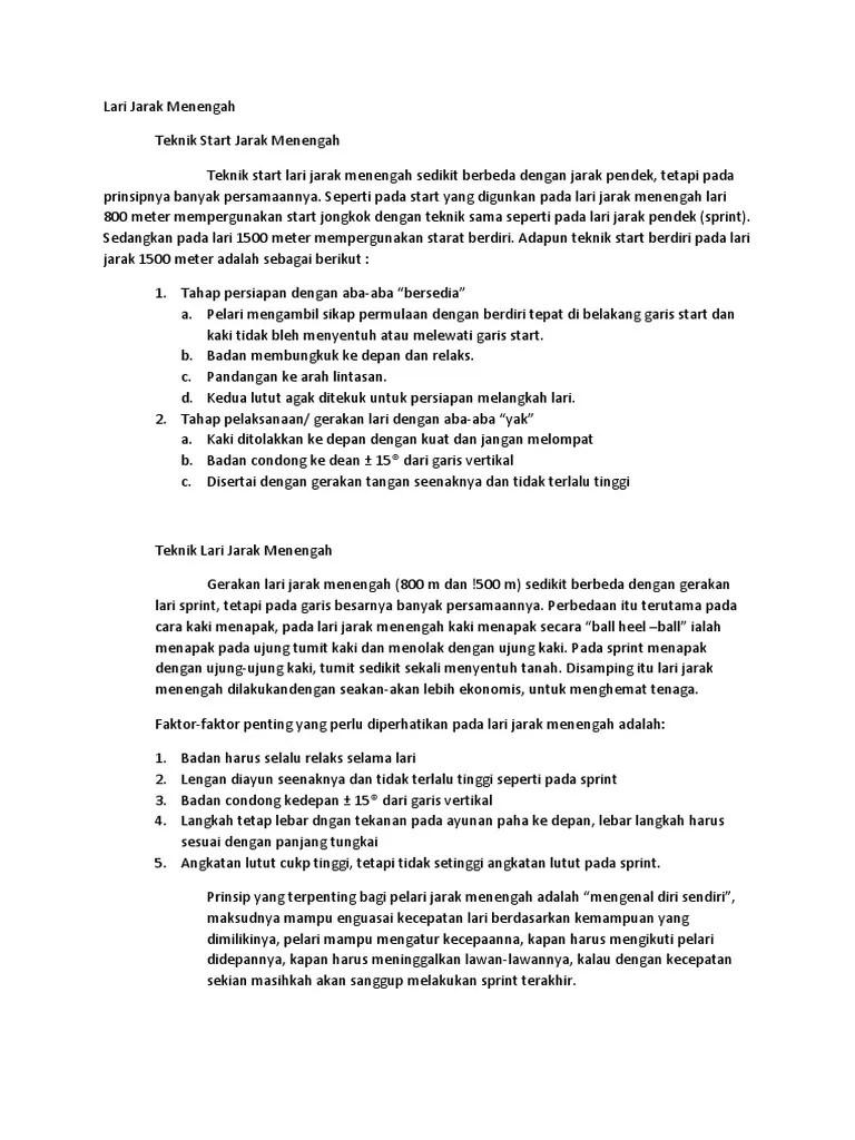 Teknik Gerakan Lari Jarak Menengah : teknik, gerakan, jarak, menengah, Jarak, Menengah.docx