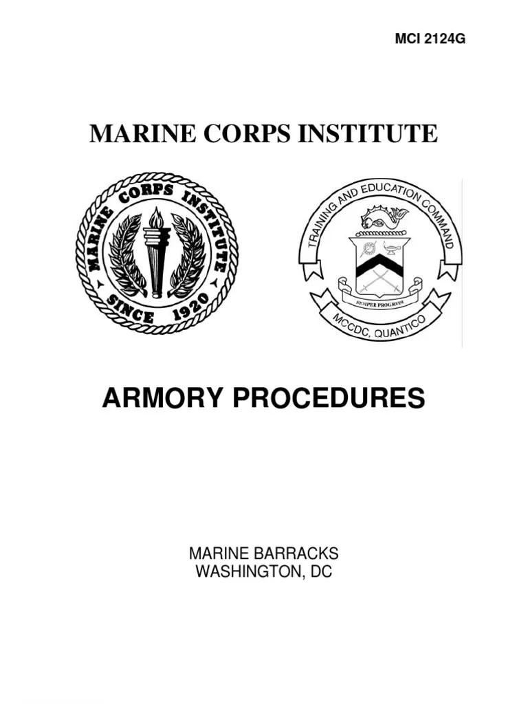 Armory Procedures