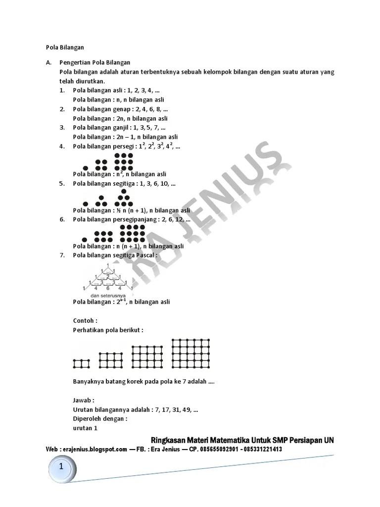 Contoh Soal Pola Bilangan Beserta Jawabannya : contoh, bilangan, beserta, jawabannya, Contoh, Bilangan, Genap, Beserta, Jawabannya, Cute766