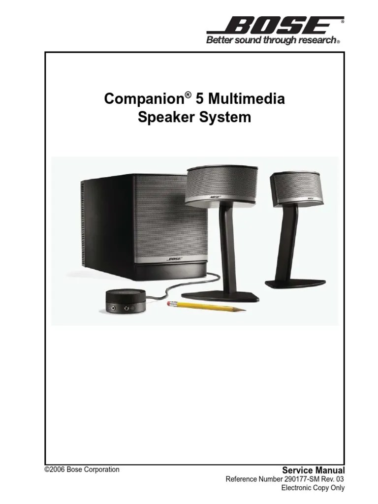 medium resolution of companion 5 service manual sm r03 electrostatic discharge loudspeaker