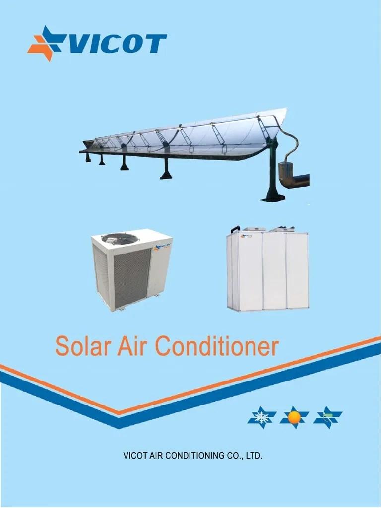 solar air conditioner diagram [ 768 x 1024 Pixel ]