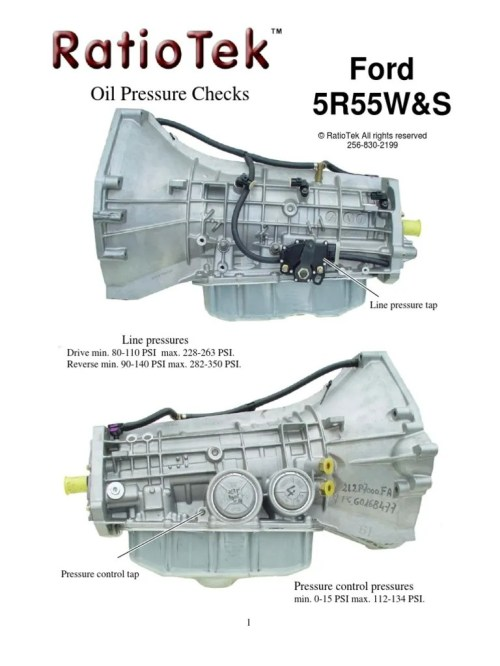 small resolution of transmission repair 5r55w transmission servo bore repair 5r55s transmission wiring harness diagram