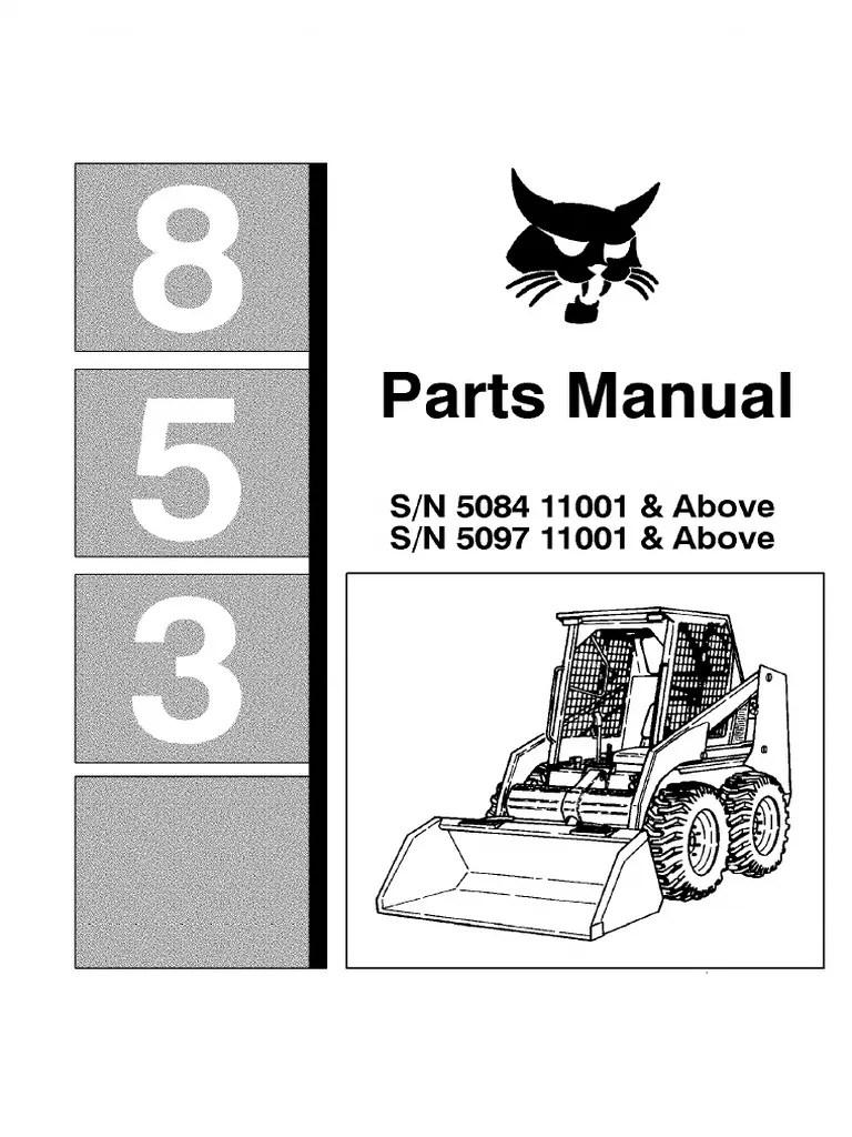 bobcat 632 part diagram [ 768 x 1024 Pixel ]