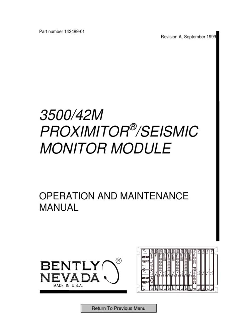small resolution of 3500 42m proximitor seismic monitor module op maintenance man printed circuit board signal electrical engineering