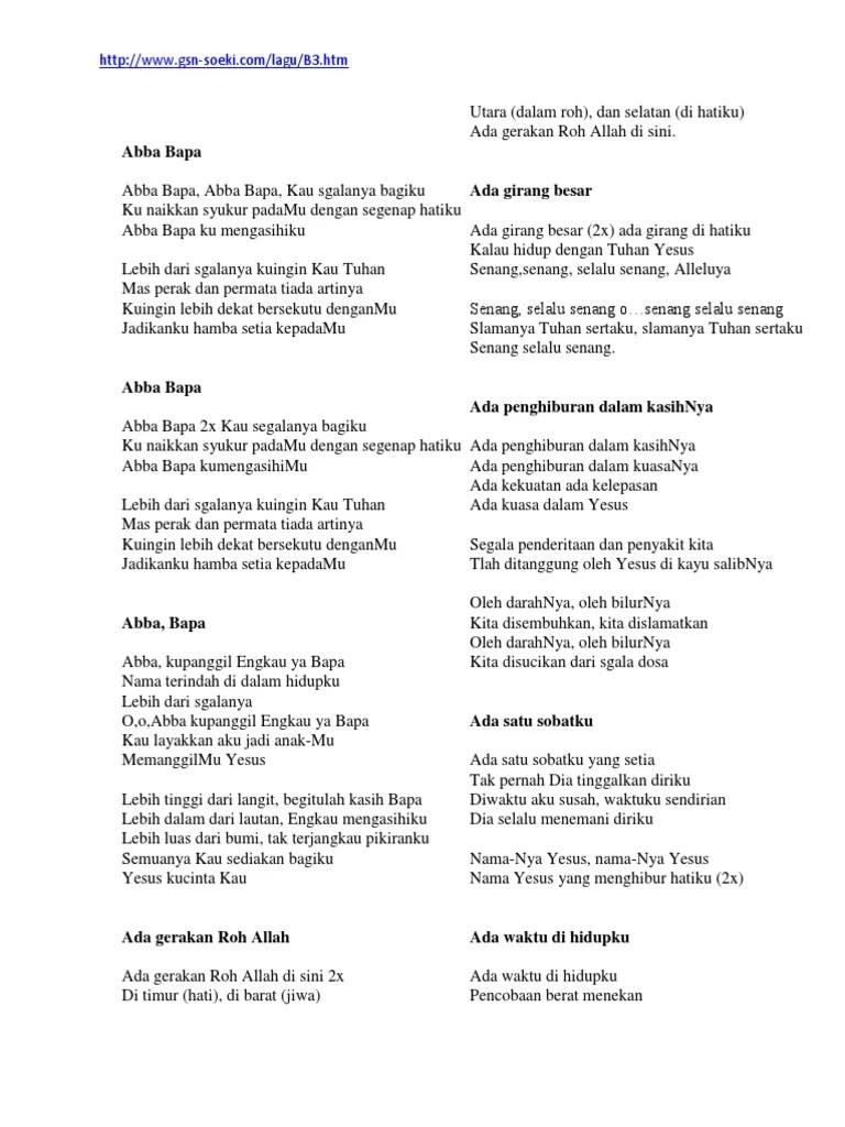 Lirik Lagu Besarkan Nama Tuhan : lirik, besarkan, tuhan, Lirik, Rohani