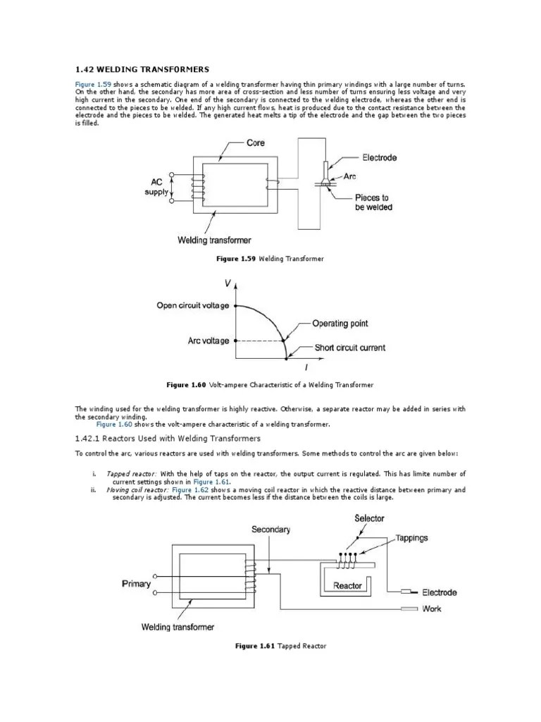 small resolution of diagram welding transformer