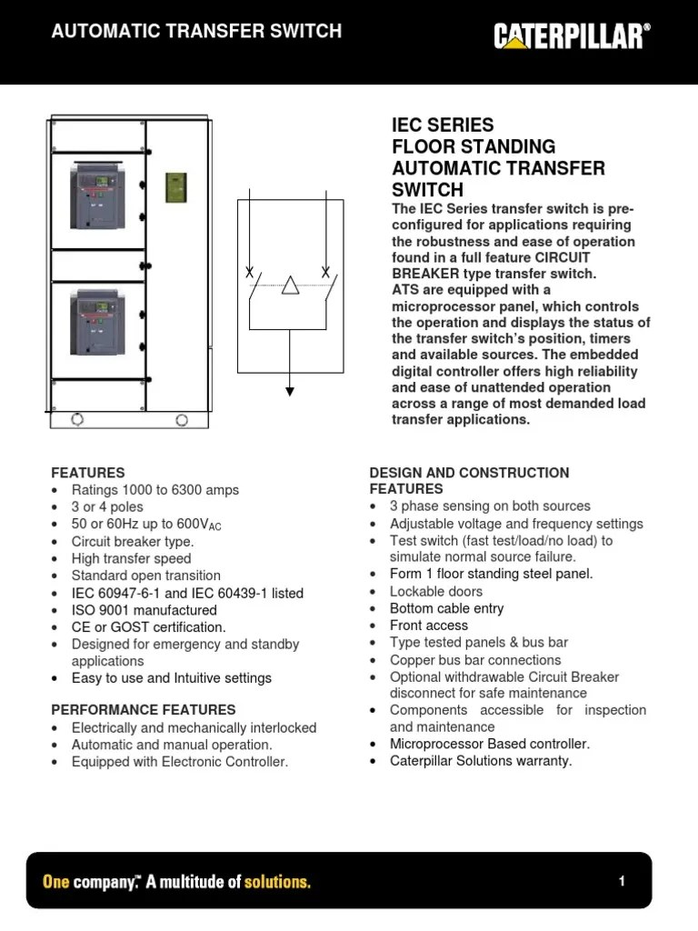 3 phase automatic transfer switch diagram [ 768 x 1024 Pixel ]