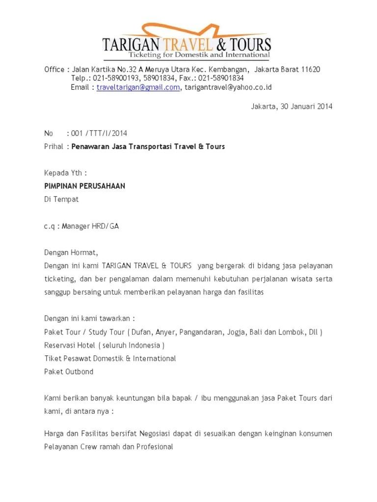 Contoh Proposal Penawaran Paket Wisata Pdf : contoh, proposal, penawaran, paket, wisata, Contoh, Proposal, Penawaran, Paket, Wisata, Sketsa