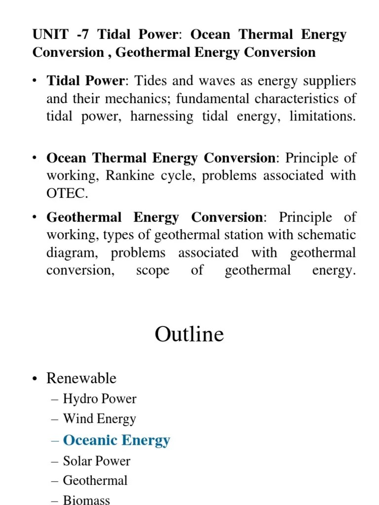 small resolution of ocean energy tidal energy and geothermal energy geothermal energy tide