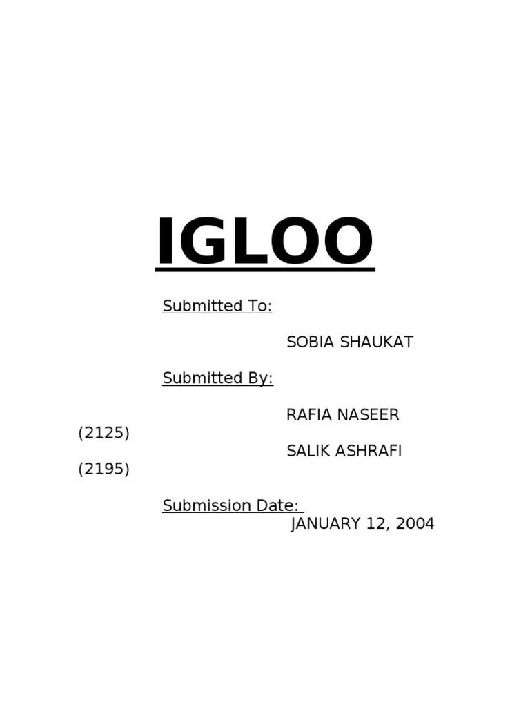 also igloo report brand competition rh scribd