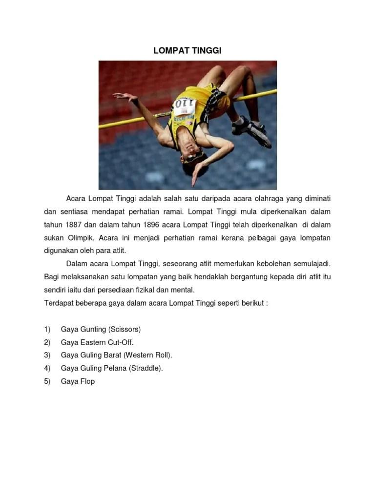Lompat Tinggi Straddle : lompat, tinggi, straddle, LOMPAT, TINGGI