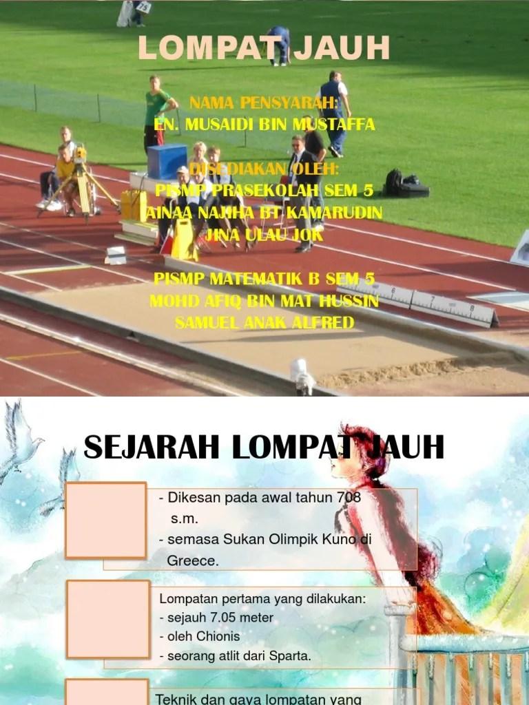 Sejarah Lompat Jauh Di Indonesia : sejarah, lompat, indonesia, LOMPAT