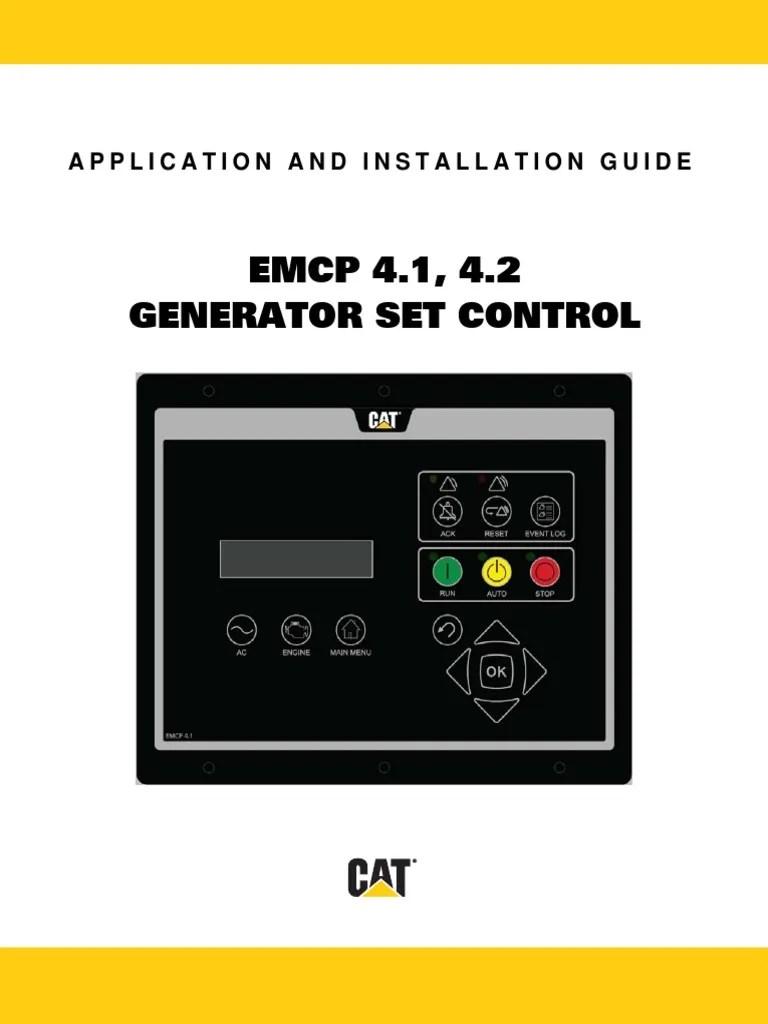 Cat 5 Wiring Diagram Help Emcp 4 1 Amp 4 2 1 16 14 Pdf