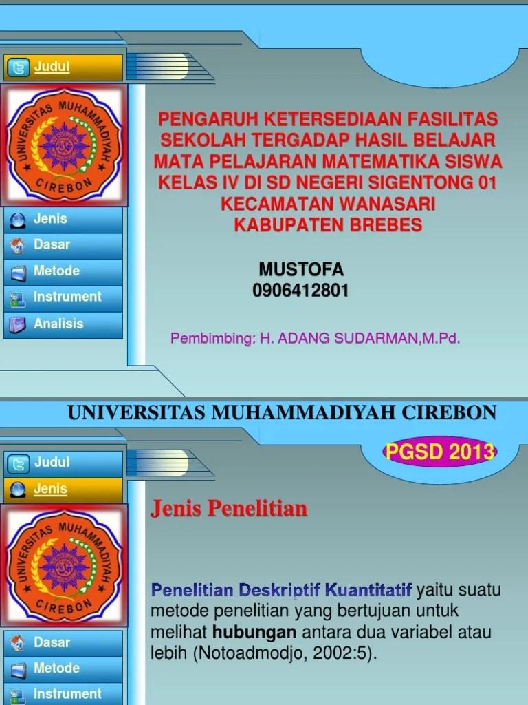 8 Situs Gratis Download Template PPT Sidang Skripsi, Seminar