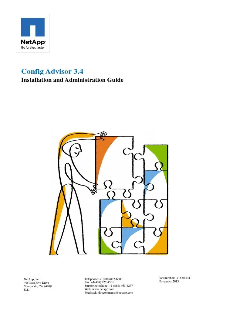 hight resolution of config advisor 3 4 installation and administration guide computer network copyright